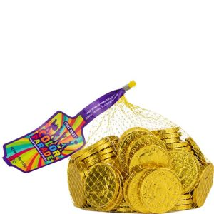 Yellow Chocolate Coins 72pc