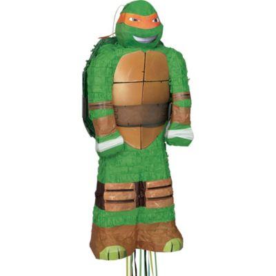 Pull String Michelangelo Teenage Mutant Ninja Turtles Pinata