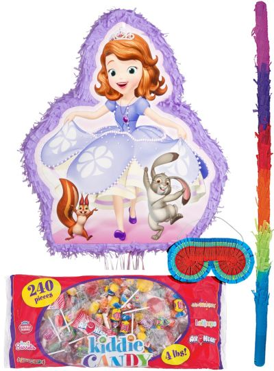 Pull String Sofia the First Pinata Kit