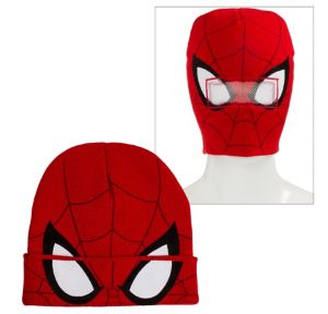 Spider-Man Roll-Down Mask Beanie