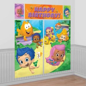 Bubble Guppies Scene Setter