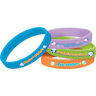 Bubble Guppies Wristbands 4ct