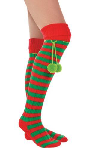 Holiday Elf Boot Socks