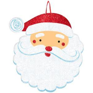 Glitter Santa Sign