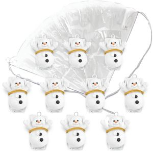 Snowman Paratroopers 10ct