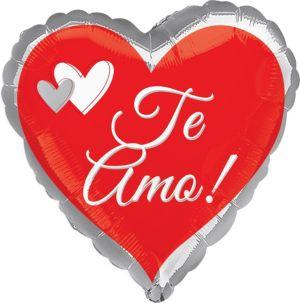 Te Amo Balloon - Hearts