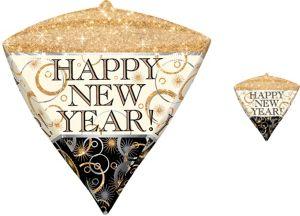 Happy New Year Balloon - Diamondz