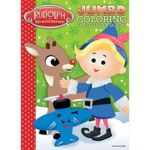 Rudolph the Red-Nosed Reindeer Christmas Coloring Book