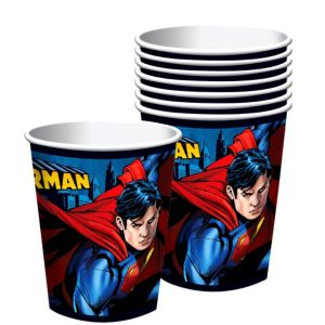 Superman Cups 8ct