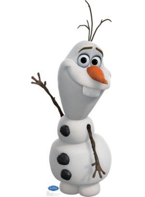 Olaf Life Size Cardboard Cutout - Frozen