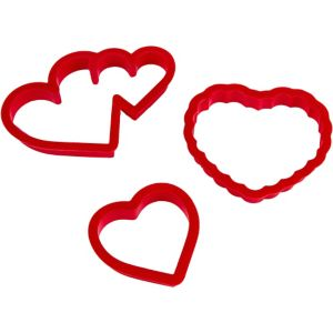 Heart-Shaped Cookie Cutter Set
