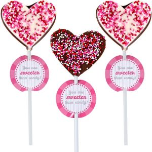 Heart Lollipop Kit 12ct