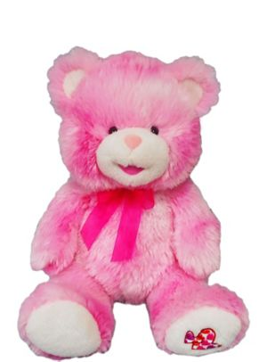 Pink Heart Teddy Bear