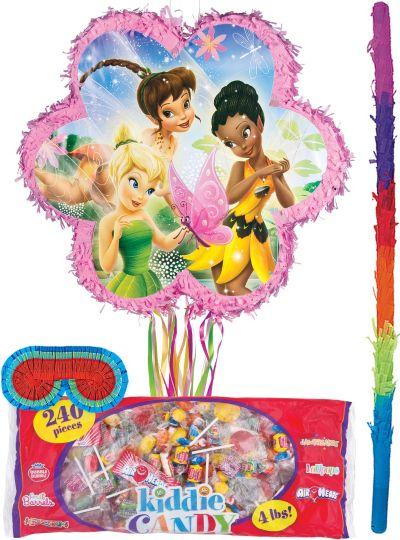 Pull String Flower Tinker Bell Pinata Kit