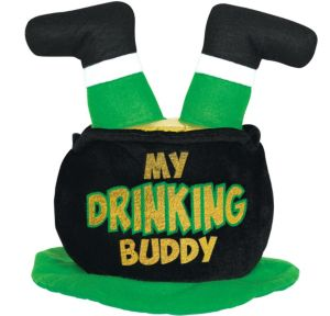 Lucky Leprechaun Pot Hat