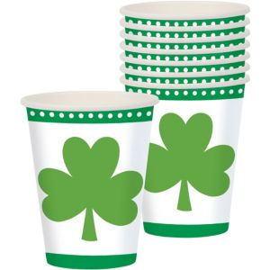 Lucky Shamrock Cups 8ct