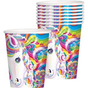 Lisa Frank Rainbow Horse Cups 8ct