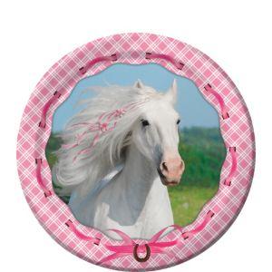 Heart My Horse Dessert Plates 8ct