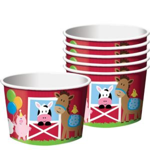 Farmhouse Fun Treat Cups 6ct