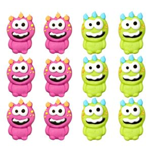 Wilton Monster Icing Decorations 12ct