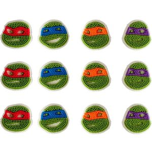 Teenage Mutant Ninja Turtles Icing Decorations 12ct