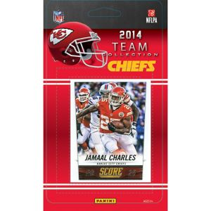 2014 Kansas City Chiefs Team Cards 13ct
