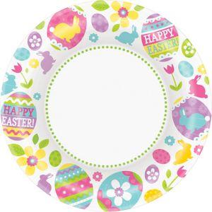 Easter Egg Hunt Dinner Plates 40ct