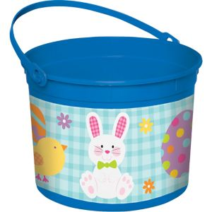 Blue Easter Bunny Bucket