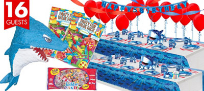 Shark Party Supplies Ultimate Party Kit
