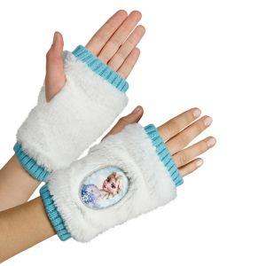 Child Elsa Fingerless Gloves - Frozen