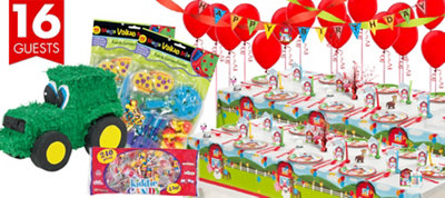 Farmhouse Fun Party Supplies Ultimate Party Kit