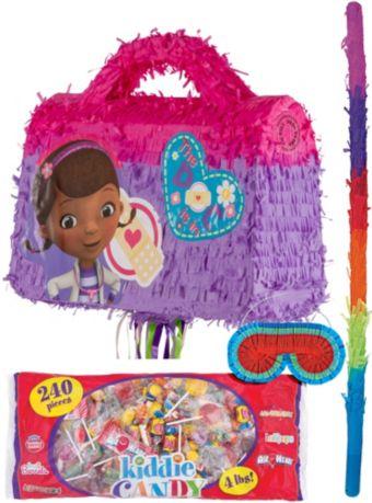 Pull String Doctor Bag Doc McStuffins Pinata Kit