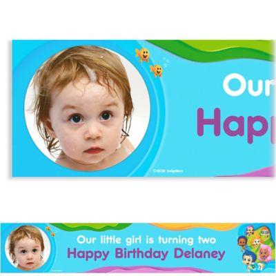 Bubble Guppies Custom Photo Banner