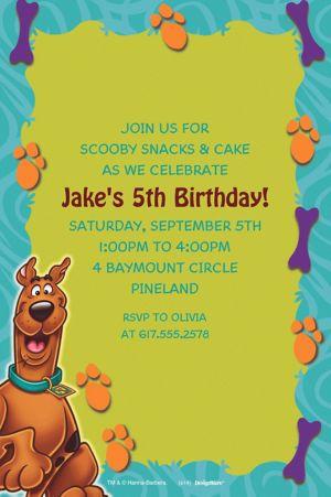 Custom Scooby-Doo Where Are You! Invitations