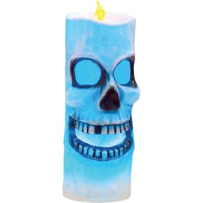 Flameless Skeleton Candle