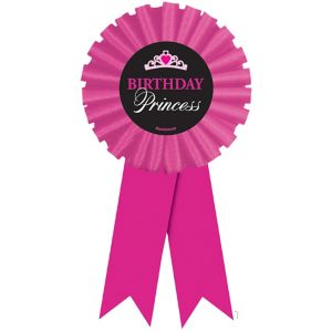 Birthday Princess Award Ribbon