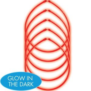 Red Glow Sticks 5ct