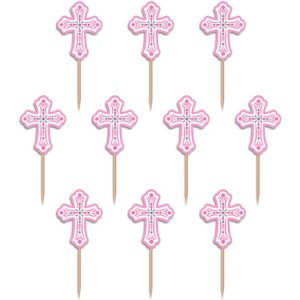 Pink Communion Party Picks 36ct