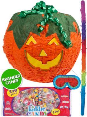 Jack-o'-Lantern Pumpkin Pinata Kit