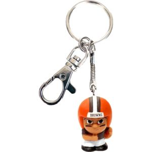 TeenyMates Clip-On Cleveland Browns Keychain