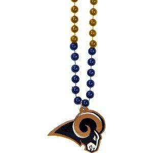 Los Angeles Rams Pendant Bead Necklace