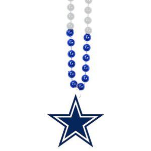 Dallas Cowboys Pendant Bead Necklace