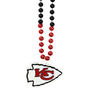 Kansas City Chiefs Pendant Bead Necklace