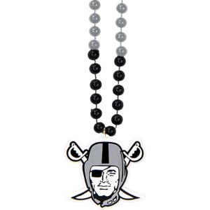 Oakland Raiders Pendant Bead Necklace