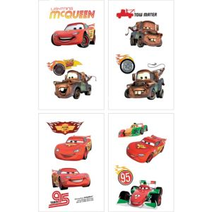 Cars Tattoos 1 Sheet