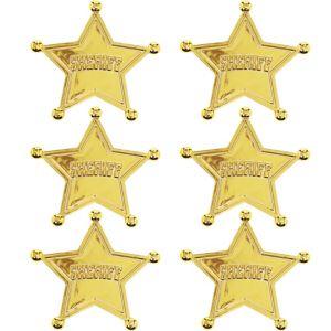 Toy Story Sheriff Badges 6ct