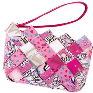 Bubble Yum Candy Wrapper Wristlet