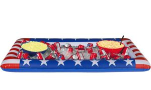 Inflatable Patriotic American Flag Buffet Cooler