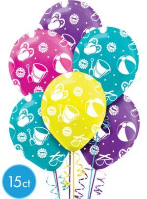Fun in the Sun Balloons 15ct