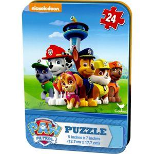 PAW Patrol Puzzle Tin 24pc